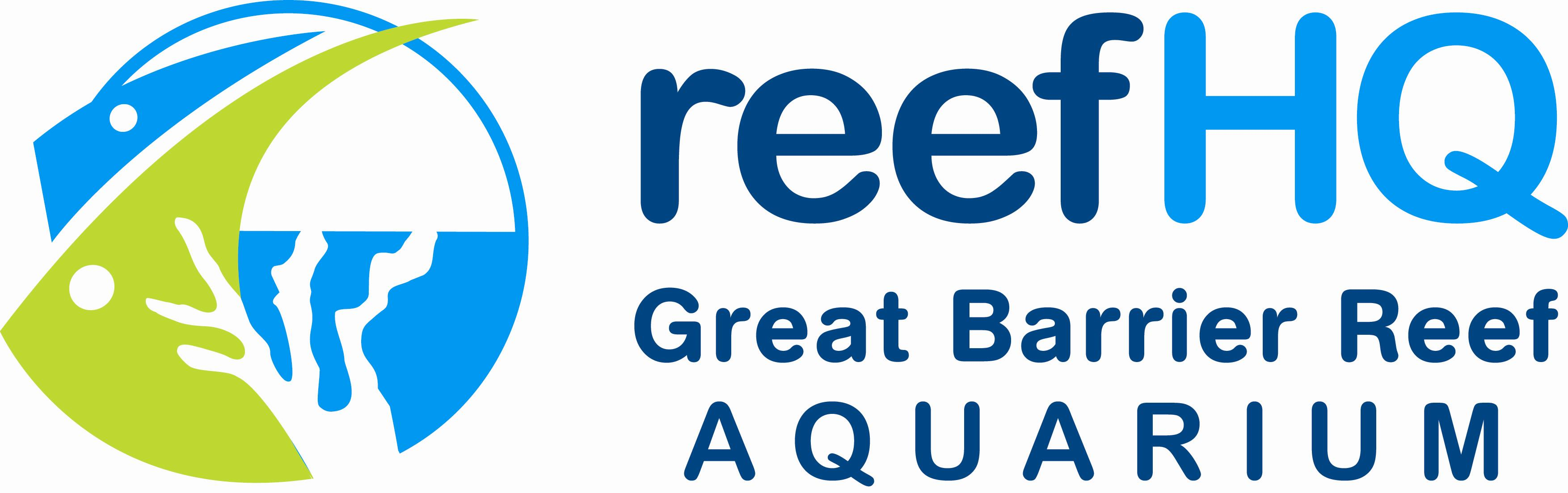 Reef HQ - Great Barrier Reef Aquarium print logo
